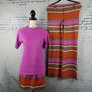 Vintage 70s Women's  Hang Ten Charlie's Girls Stri